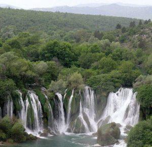 De Kravicawatervallen Trebižat