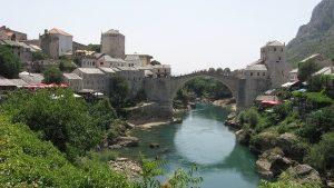Stari Most brug in Mostar